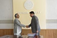 Аймгийн Засаг дарга Д.Батлут Энэтхэгийн Элчин сайд  Суриш Бабуг хүлээн авч уулзлаа